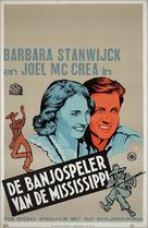 Banjo on My Knee - Dutch Movie Poster (xs thumbnail)