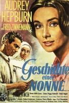 The Nun's Story - German Movie Poster (xs thumbnail)