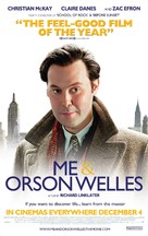 Me and Orson Welles - Movie Poster (xs thumbnail)