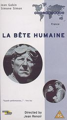 La bête humaine - French VHS cover (xs thumbnail)