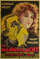 The Man Who Laughs - German Movie Poster (xs thumbnail)