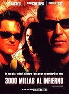 3000 Miles To Graceland - Spanish poster (xs thumbnail)