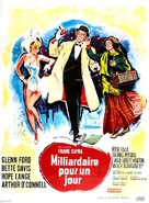 Pocketful of Miracles - French Movie Poster (xs thumbnail)