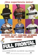 Full Frontal - Spanish Movie Poster (xs thumbnail)