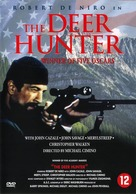 The Deer Hunter - Dutch DVD cover (xs thumbnail)