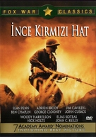 The Thin Red Line - Turkish DVD movie cover (xs thumbnail)