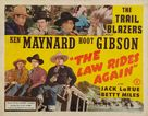 The Law Rides Again - Movie Poster (xs thumbnail)