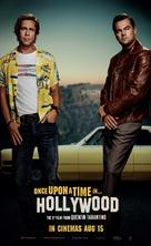 Once Upon a Time in Hollywood - Singaporean Movie Poster (xs thumbnail)