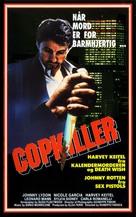 Copkiller (l'assassino dei poliziotti) - Norwegian VHS cover (xs thumbnail)