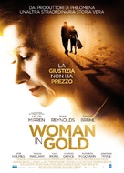 Woman in Gold - Italian Movie Poster (xs thumbnail)