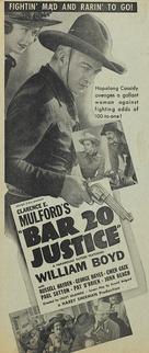 Bar 20 Justice - poster (xs thumbnail)