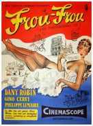 Frou-Frou - Danish Movie Poster (xs thumbnail)