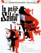 Le petit soldat - French Movie Poster (xs thumbnail)