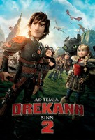 How to Train Your Dragon 2 - Icelandic Movie Poster (xs thumbnail)