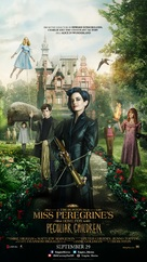 Miss Peregrine's Home for Peculiar Children - Lebanese Movie Poster (xs thumbnail)