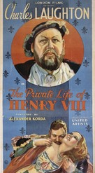 The Private Life of Henry VIII. - Theatrical poster (xs thumbnail)