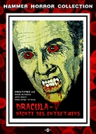Scars of Dracula - German Movie Cover (xs thumbnail)