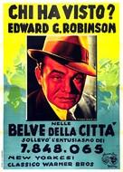 Bullets or Ballots - Italian Movie Poster (xs thumbnail)