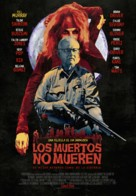 The Dead Don't Die - Spanish Movie Poster (xs thumbnail)