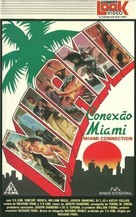 Miami Connection - Brazilian VHS cover (xs thumbnail)