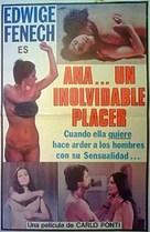 Anna, quel particolare piacere - Spanish Movie Poster (xs thumbnail)