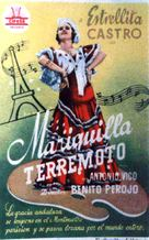 Mariquilla Terremoto - Spanish Movie Poster (xs thumbnail)
