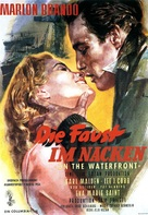 On the Waterfront - German Movie Poster (xs thumbnail)