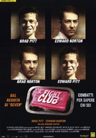 Fight Club - Italian Movie Poster (xs thumbnail)