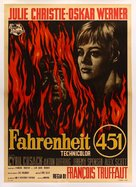 Fahrenheit 451 - Italian Movie Poster (xs thumbnail)