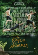 The Kings of Summer - Spanish Movie Poster (xs thumbnail)