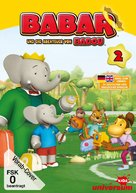 """Babar and the Adventures of Badou"" - German DVD cover (xs thumbnail)"