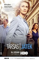 """""""Társas játék"""" - Hungarian Movie Poster (xs thumbnail)"""