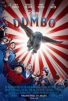 Dumbo - Icelandic Movie Poster (xs thumbnail)