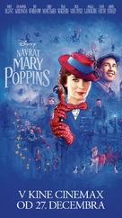 Mary Poppins Returns - Slovak Movie Poster (xs thumbnail)