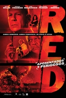 RED - Brazilian Movie Poster (xs thumbnail)
