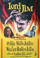 Lord Jim - Swedish Movie Poster (xs thumbnail)