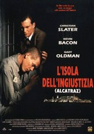 Murder in the First - Italian Movie Poster (xs thumbnail)