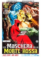 The Masque of the Red Death - Italian Movie Poster (xs thumbnail)