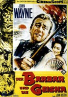 The Barbarian and the Geisha - German Movie Poster (xs thumbnail)