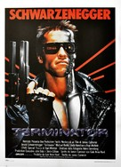 The Terminator - Italian Movie Poster (xs thumbnail)