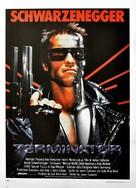 The Terminator - Italian Movie Poster (xs thumbnail)