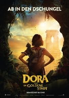 Dora and the Lost City of Gold - German Movie Poster (xs thumbnail)