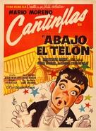 Abajo el telón - Mexican Movie Poster (xs thumbnail)
