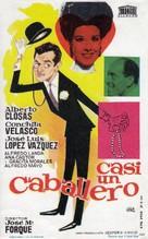 Casi un caballero - Spanish Movie Poster (xs thumbnail)