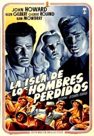 Isle of Missing Men - Spanish Movie Poster (xs thumbnail)