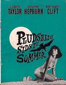 Suddenly, Last Summer - Danish Movie Poster (xs thumbnail)