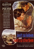 A Time to Love and a Time to Die - German Movie Poster (xs thumbnail)