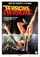 Scream and Scream Again - Italian Movie Poster (xs thumbnail)