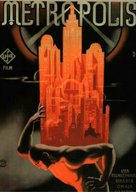 Metropolis - German Movie Poster (xs thumbnail)