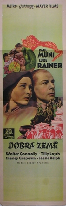 The Good Earth - Czech Movie Poster (xs thumbnail)